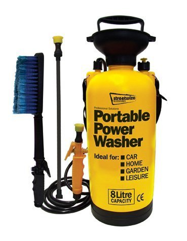 Bicycle & Motorbike 8 Litre Portable Power Pressure Washer
