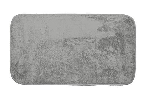Gemitex Tappeto Merlino Grigio Chiaro Ultrassorbente, Poliestere, 40 x 70 cm