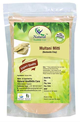 Polvo Multani Mitti 100% puro natural (arcilla india) (227 g)