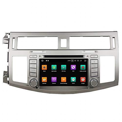 WHL.HH Androide 10 Auto Estéreo Cabeza Unidades GPS Navegación Auto Radio Video 4 GB de RAM ROM de 64 GB Multimedia Jugador Apoyo BT SWC WiFi, por Avalon 2008 2009 2010