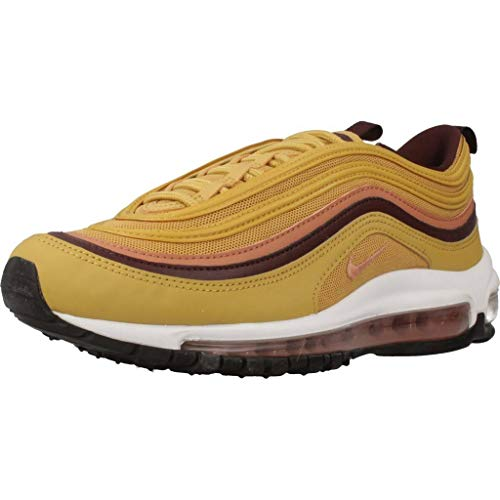 Nike Women's W Air Max 97 Competition Running Shoes, Multicolour (Wheat Gold/Terra Blush/Burgundy Crush 700), 4.5 UK