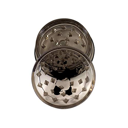 Panda with Pistols 3-Piece Magnetic Acrylic Herb Spice Grinder with Storage 25 from Smoke Promos 1 Smoke