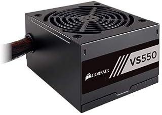 Corsair CP-9020171-UK Unidad de - Fuente de alimentación (550 W, 100-240 V, 47-63 Hz, 120 W, 528 W, 120 W)