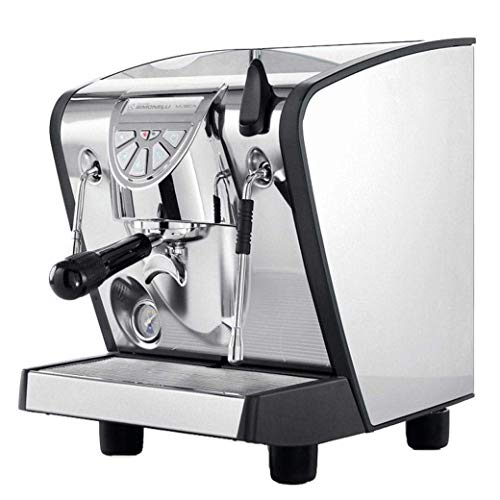 Nuova Simonelli Musica Stainless Steel Pour Over Espresso Machine w/ Black Lining
