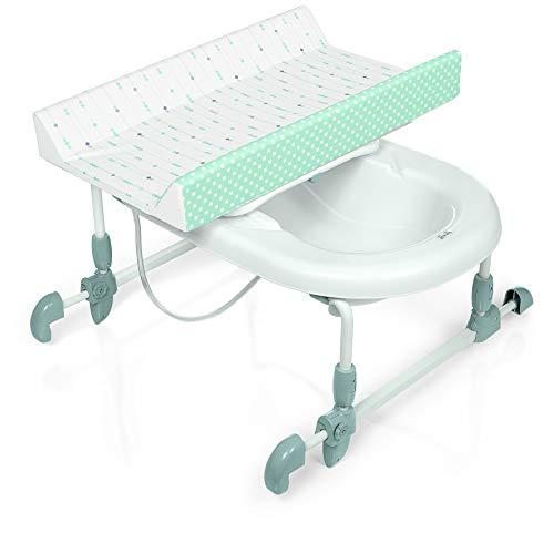 Brevi 594-658 Table à langer adaptable sur baignoire adulte Acqua