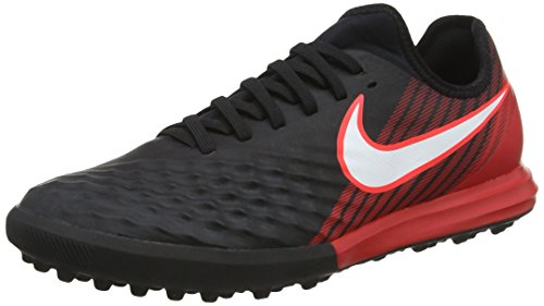 Nike Magistax Finale II TF, Botas de fútbol para Hombre, Multicolor (Black/University Red/White 061), 40 EU