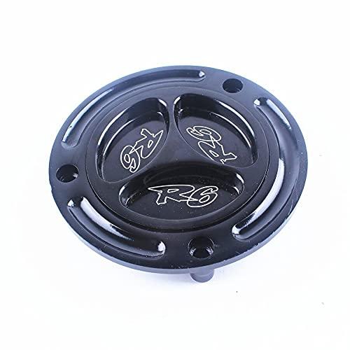 Accessories Keyless Engraved Twist Off Gas Fuel Tank Cap for Yamaha YZF R6 YZF-R6 1999-2012 2000 2001 2002 2003 2004 2005 2006 2007 2008