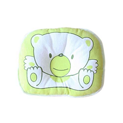 ELENXS Cartton Ours Doux bébé Nouveau-né bébé Tout-Petit Oreiller en Coton Coussin de Soutien Pad Side Sleeping Anti Rouleau