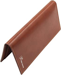 BeniNew wallet long-capacity multi-function vertical PU wallet-light brown
