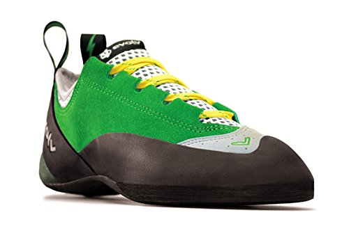 Evolv Spark Climbing Shoe - Men's Green/Gray 14