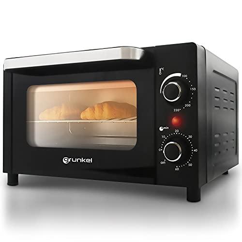 Grunkel - HR-10MINI - Mini horno eléctrico de 10L de capacidad con...