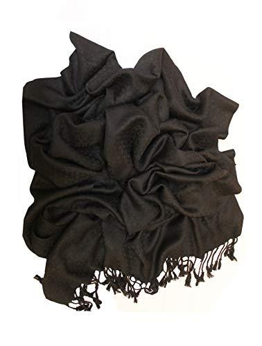 Raajsee vrouwen zacht gevoel Pashmina kasjmier lange sjaal - sjaal - Wikkel - stal - Hijab/een perfect cadeau voor dames/hoge kwaliteit wol - warme avond partij bruiloft Wrap