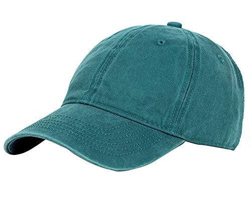 シンプルで洗練されたデザイン?ユニセックス野球帽日焼け止め日焼け止め帽子調節可能なキャップヒップホップフラットハットボンネットスポーツサイクリングハイキングレジャートラベルグリーン