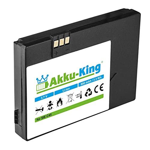 Akku-King Akku kompatibel mit Siemens V30145-K1310-X213 - Li-Ion 900mAh - für A50, C45, M50, MT50