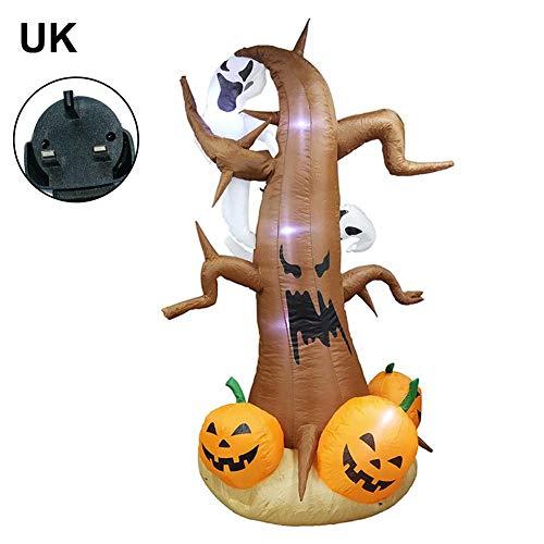 Halloween besondere Seele Seele Modell, aufblasbare Geisterpuppe Dekoration Requisiten Urlaub Party Veranstaltungsort 2,4 Meter Halloween Requisiten