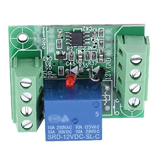 YepYes Módulo de relé de un Solo Canal DC 12V Circuito de biestable Tablero de Control del Interruptor