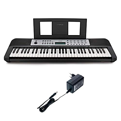 Teclado Musical Arranjador Yamaha YPT-270 com 61 teclas, 401 timbres e 32 notas de polifonia – Preto