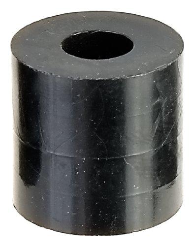 GAH-Alberts 338725 Lot de 5 entretoises en plastique 5-8 mm, ø extérieur 20 mm, hauteur 5/10/20/30 mm (Noir)