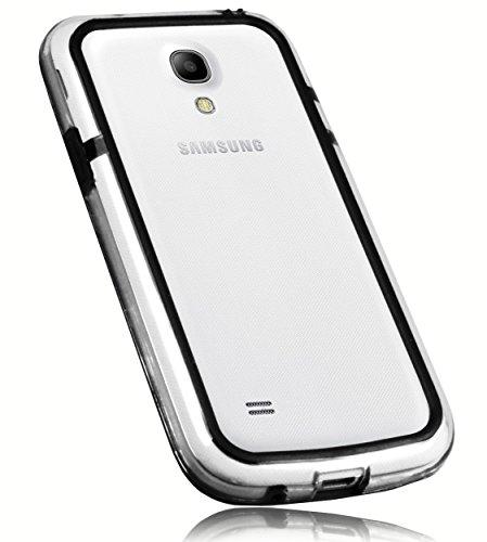mumbi Hülle kompatibel mit Samsung Galaxy S4 mini Handy Hülle Handyhülle, schwarz
