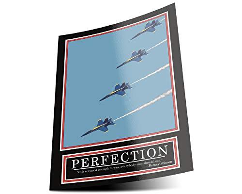 GREAT ART Perfection Poster Original – Barney Stinson Wandposter – 85 x 60 cm Flugzeug How I met Your Mother Motivation Barney Stinson Office Gewinnen Bilder Plakat – Nr. 5