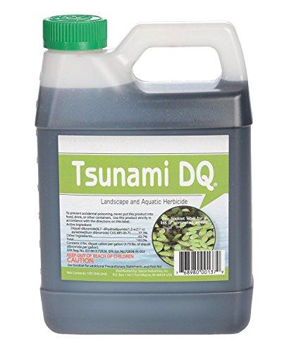 Crystal Blue Tsunami DQ Aquatic Herbicide - 37.3 Percent Diquat Dibromide - 1 Quart