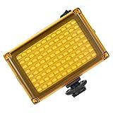 H HILABEE Luz De Video De Viaje De Estudio De 96 LED para Cámaras Y Videocámaras Digitales DSLR 3x3x1