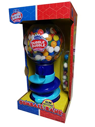 DUBBLE BUBBLE- MAQUINA DE CHICLES + 75 GR BOLAS DE CHICLE