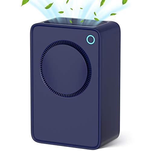 Dehumidifier Portatile 1000ml,Deumidificatore Ambiente Casa,Deumidificatore d'aria ultra silenzioso per casa camera da letto Armadio da cucina Garage