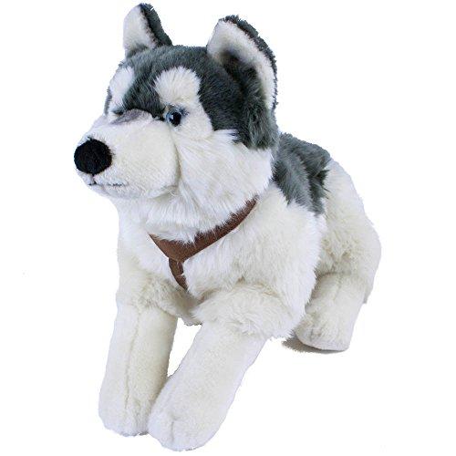 Hund HUSKY Stofftier Plüschtier 62 cm UNI TOYS NEU