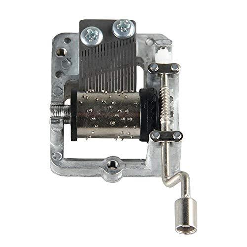 aaerp Metall Mini Music Box Fai mechanisch Handkurbel Craft Music Box Decor Mini Melody For Harry Potter