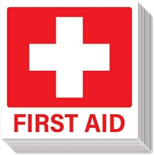 First Aid Stickers (Pack of 10)