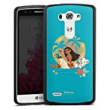 DeinDesign Coque en Silicone Compatible avec LG G3 Étui Silicone Coque Souple Vaiana Produit sous...