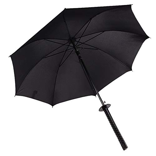 2400/5000 sneldrogende reisparaplu, lange handgreep, grote creatieve paraplu, golfscherm, winddicht, groot, waterdichte zonwering, regendichte, weerbestendige paraplu, zwart
