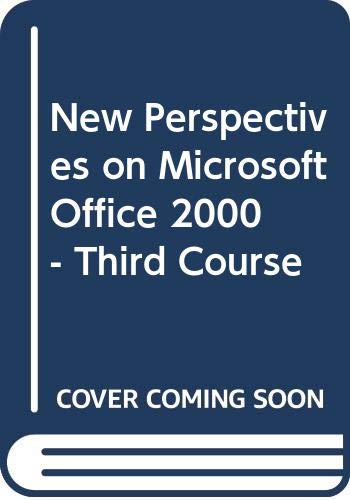 Download New Perspectives on Microsoft Office 2000 - Third Course 0619020520