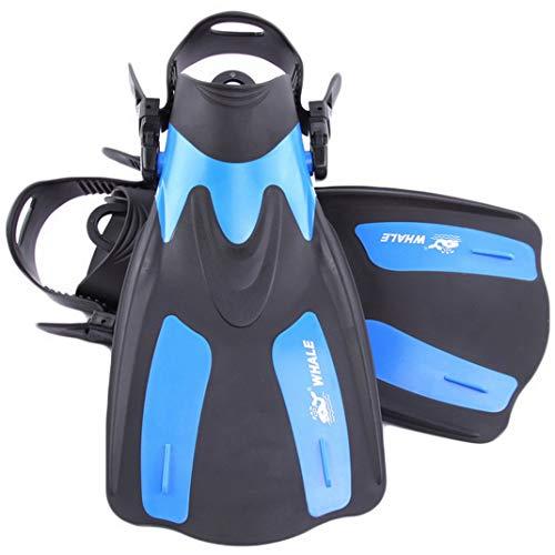 AOOPOO Erwachsene Kurz Flippers Taucherflossen | Schwimmflossen | Schnorchelflossen verstellbar für Damen und Herren