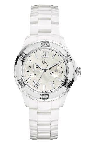 Reloj Guess Collection Gc Sport Class Xl-s X69117l1s Mujer Nácar