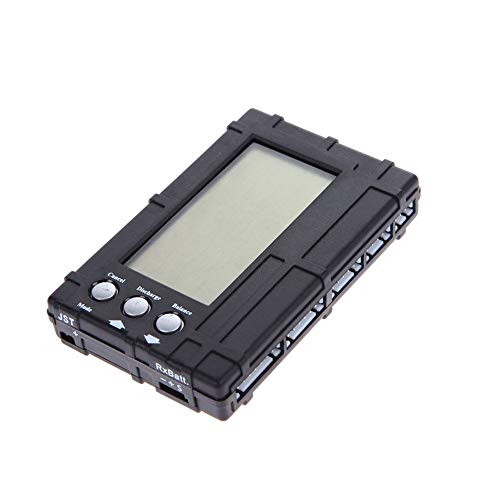 ICQUANZX RC 3 in 1 Akku-Balancer 2s-6s Lipo Li-Fe LCD + Spannungsmesser-Tester + Entladegerät , Venom Pro LiPo Checker Multi-Tool mit Balance- und Entladefunktion