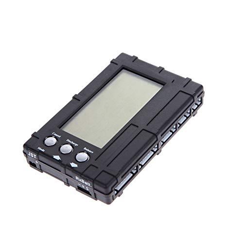 ICQUANZX RC 3 en 1 Balanceador de batería 2s-6s Lipo Li-Fe LCD + Medidor de Voltaje Tester + Descargador, Venom Pro LiPo Checker Multi Herramienta con función de Equilibrio y Descarga