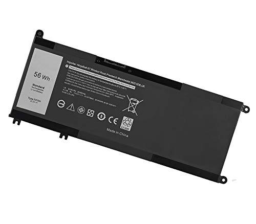 33YDH Battery for Dell Inspiron 17 7000 7778 7779 7786 7773 3779 G5; 15 7577 7588 3579 5587 G7 / 13 7353 G3 Latitude 13 3380 14 3490 3590 3580 Vostro 7580 7570 PVHT1 P30E P30E001 81PF3 081PF3
