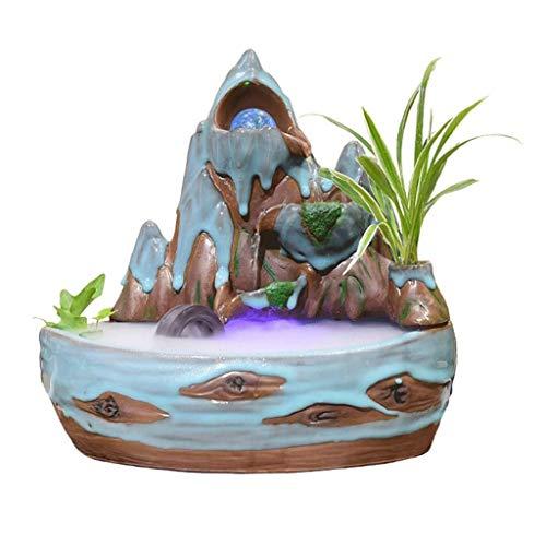 XZtianxie IN-&Outdoor Zimmerbrunnen, Keramik Material, Handgemalte Skulpturen, Applied Wares, Pensionen, Außerhalb, Geschenke, usw.