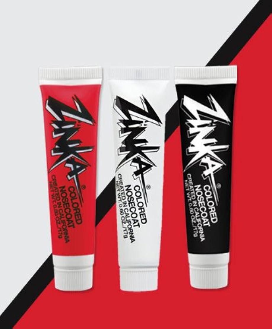 Zinka Team Face Paint and Sun Block - Boston - White/Red/Black