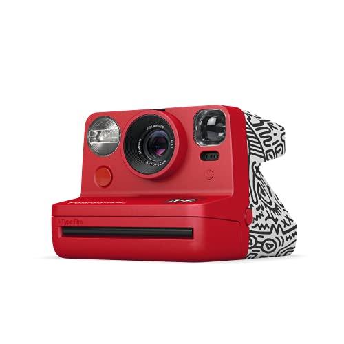 Polaroid Now I-Type 9067 - Fotocamera istantanea Keith Haring Edition