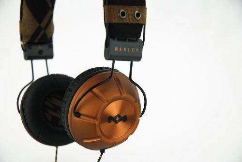 House of Marley EM-JH000-MI Soul Rebel Midnight On-Ear Headphones Photo #3
