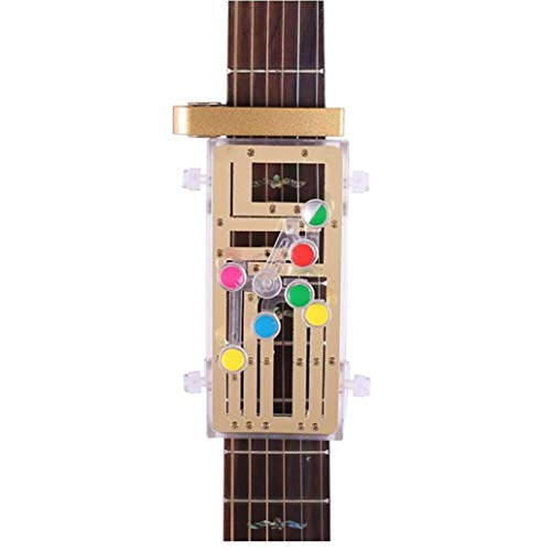 Akustikgitarre Chord Buddy Lehrmittel Guitar Tool Gitarre Learning System Practrice Aid 6 Universal-akkorde