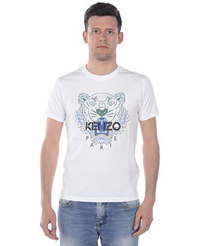 Kenzo Herren T-Shirt Weiss (10) XL