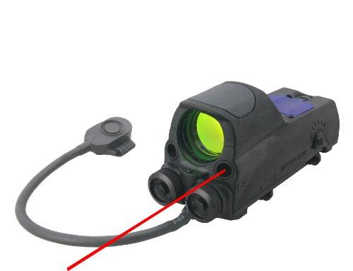Meprolight Mepro MOR M-P-B-G Reflex Sight with Green Laser (5mw) & IR Pointers Bullseye w/QR (LE/Military Only)