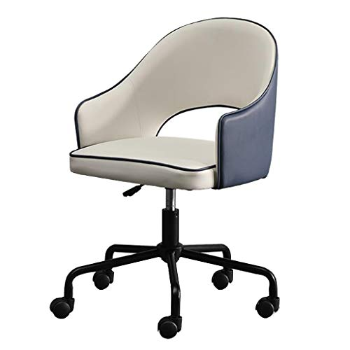 Desk Chair Executive Office Chair PU Leather Office Computer Chair, Executive PC Computer 360°Swivel Height Adjustable Chair Rocking Chair with Wheels, Ergonomic Design