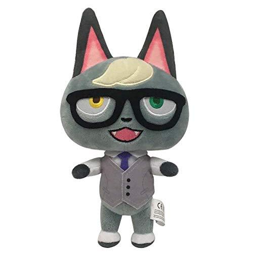 XWYWP Juguetes suaves 20 cm Animal Crossing Plush Toy Soft Stuffed Toy Doll Animefor Niños Niños Regalos