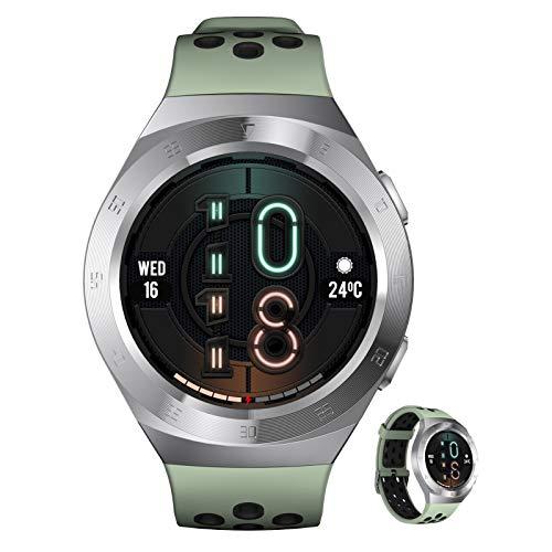 BNMY Smartwatch Reloj Inteligente con Pulsómetro,Cronómetros,Calorías,Monitor De Sueño,Podómetro Monitores De Actividad Impermeable IP68 Smartwatch Hombre Reloj Deportivo para Android iOS,E