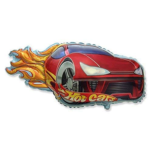 Party Brands 901748 Hot Car, 31', Red